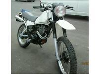 Yamaha xt550 1982 UK bike