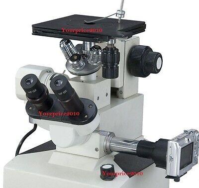 Metallurgical Inverted Microscope Precision Trinocular Kfw Microscopes