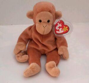 c3e4117da58 ... Ty · Beanie Babies-Original · Retired · Bongo Beanie Baby Rare Monkey