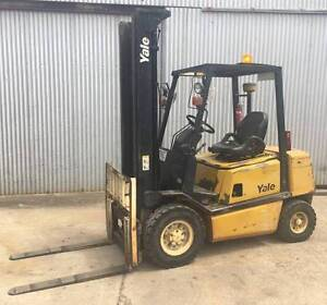 USED Yale GDP25TEJUA V2615 2.5T Diesel Forklift Glamorgan Vale Ipswich City Preview