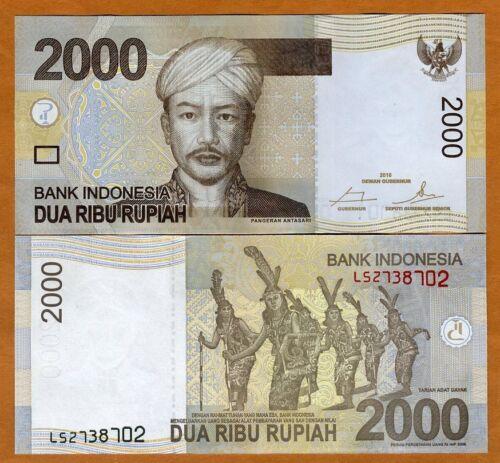 Indonesia, 2000 Rupiah, 2016, P-148-New , UNC