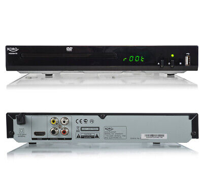 DVD-Player Xoro HSD 8470 MPEG4 USB 2.0 Mediaplayer, MultiROM, Upscaling