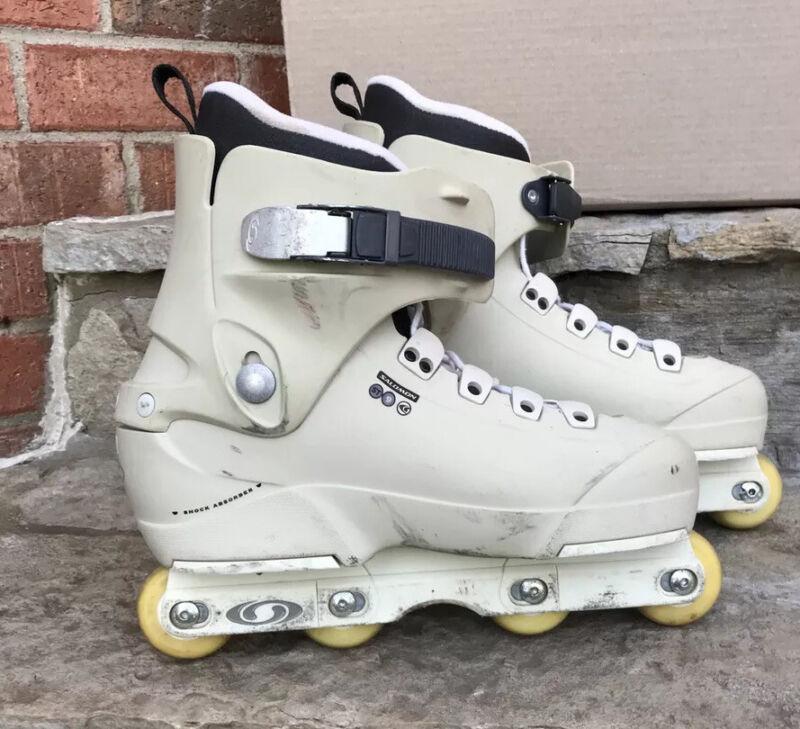 Salomon ST9 Aggressive Skates 29/29.5 Mens Size 11.5 In-line Matt Andrews Wheels