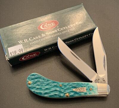 2004 Case XX Tony Bose TB62110 SS Jade Saddlehorn Pocket Knife
