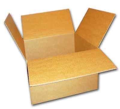 25 Cajas de Cartón 200x150x100 mm Caja Envío Plegable