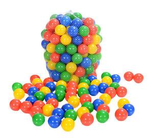 Bunte LCP Kids Kinder Spielbälle für Bällebad und Spiel 100 stk günstig kaufen