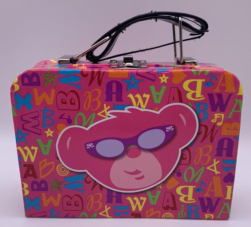 Build-A-Bear Workshop BAB Pink Tote Bag Suitcase