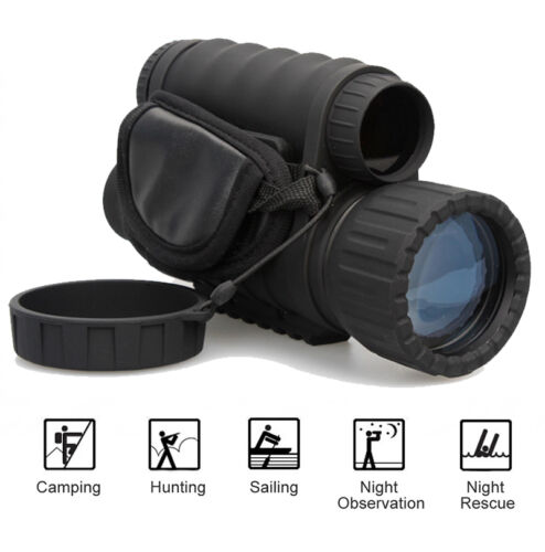 HD 720P 5MP WG-50 IR Infrared Night Vision Monocular Telesco