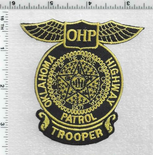 Highway Patrol Trooper (Oklahoma) 1st Issue Cap/Hat Patch