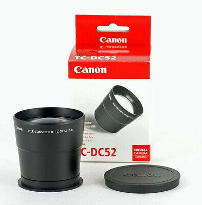 Canon TC-DC52 52mm 2.4X Teleconverter Lens