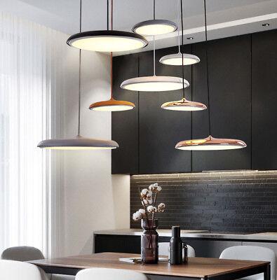 (Nordic Led Flying Saucer Pendant Lamp UFO simple Hanging Lamp Macaroon Light)