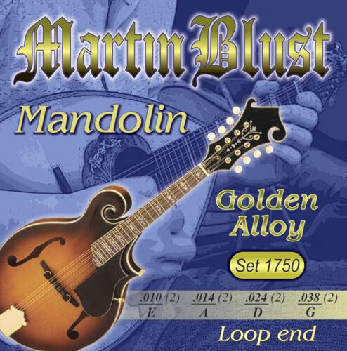 Martin Blust Mandolinen-Saiten Set 1750 Golden Alloy