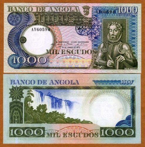 Angola, 1000 (1,000) Escudos, 1973, P-108, UNC