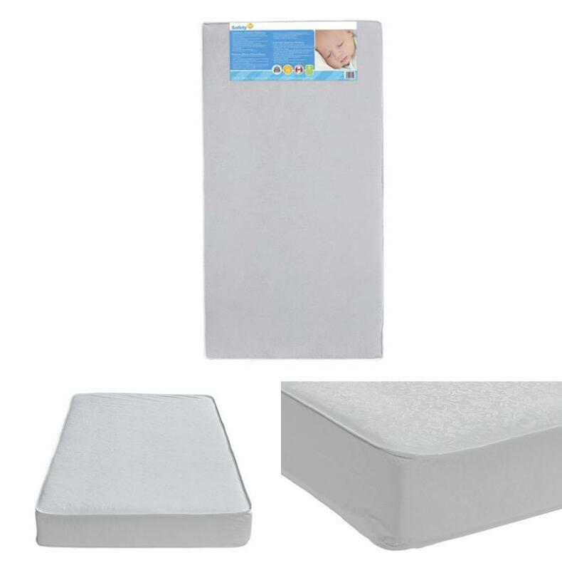 Safety 1St Heavenly Dreams White Crib Toddler Bed Mattress F