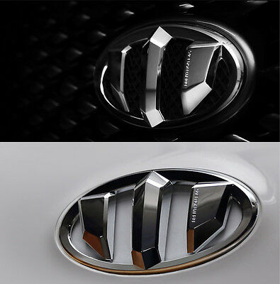 Front Rear Steering Wheel Horn Cap Brenthon Emblem 3p For 2013-2014 Kia Sorento