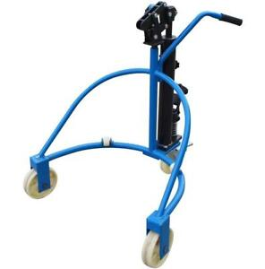 Hydraulic Oil Drum Cart Dolly Truck Manual 660lbs No Shipping Pick Up Only 153014