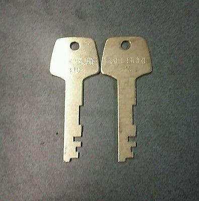 Lefebure Al -81 Precut Keys 1 Pair At Random Code . Locksmith Safe Tech