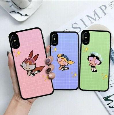 The PowerPuff Girls Hard Cover Case Best Friends Matching iPhone 8 8Plus X XS