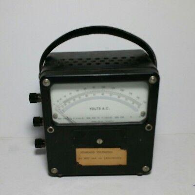 Nice - Daystrom Ac Volts Vintage Panel Meter Gauge 150 75 V A.c.