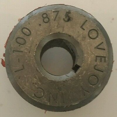 Lovejoy L-100 Coupling Hub .875 78 Boar 332 Keyway Part 11514