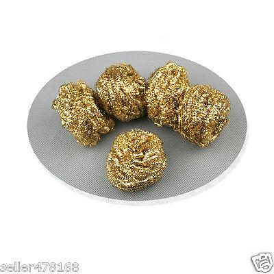 10 Pcs Lot Copper Wire Soldering Tips Solder Cleaner Sponge Copper Ball Tools