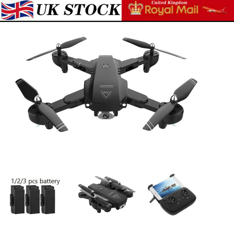 RC Drones L103 2.4G With 1080P HD Camera GPS WIFI FPV Foldable Quadcopter UK N