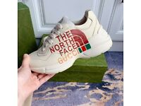 Gucci North face Rhyton sneakers