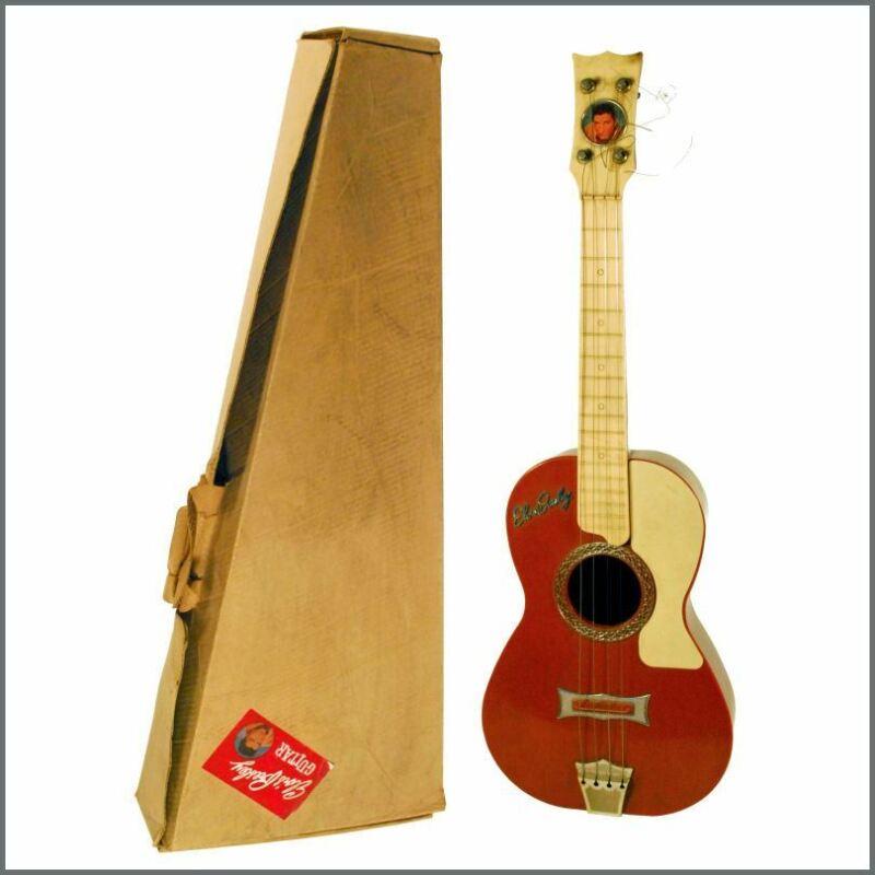 Elvis Presley 1950s/1960s Selcol Boxed Junior Guitar (UK)