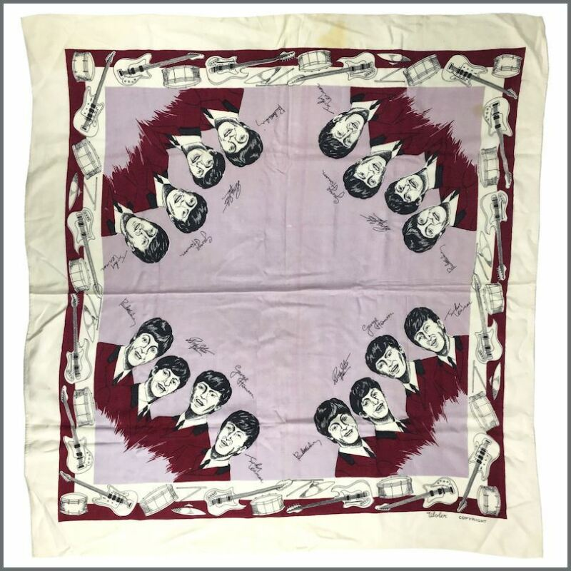 The Beatles 1960s Ulster Cotton Tablecloth (Ireland)