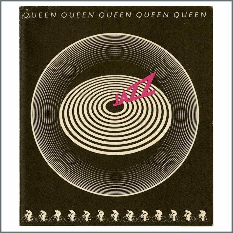 Queen 1978 Jazz Promotional Card (UK)