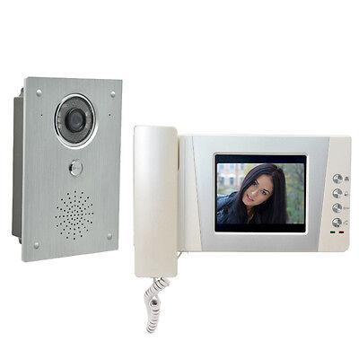 """4.3"""" Video Door Phone Doorbell Intercom system video interphone alloy Camera"""