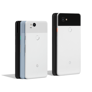 Google pixel 2 for sale clearly  white
