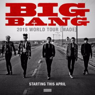 2 Platinum Reserve BIGBANG 2015 WORLD TOUR [MADE] Rod Laver Arena Chadstone Monash Area Preview