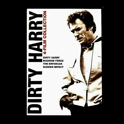 Dirty Harry Collection: 4 Film Favorites (DVD, 2010, 4-Disc Set)