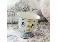Primark Official Disney Beauty And The Beast Chip Mug Cup – Brand New
