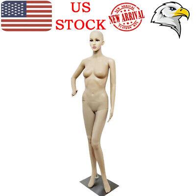 Bent Foot Akimbo Full Body Mannequin Shop Window Display Dummy Retail Female Us