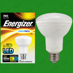 4x 11W R80 810lm LED Ultra Low Energy Reflector Spotlight Bulb ES E27 Light Lamp