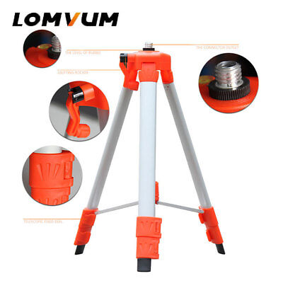 Lomvum Universal Telescoping Tripod For Laser Level Adjustable Size Holder Stand