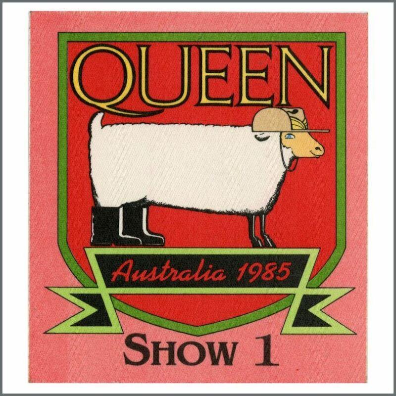 Queen 1985 Melbourne The Works Tour Pass (Australia)