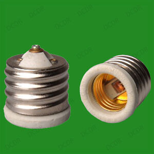 e40 edison porcelaine c ramique e27 adaptateur convertisseur lampe a vis ebay. Black Bedroom Furniture Sets. Home Design Ideas