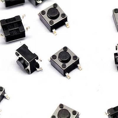 50pcs 664.5mm Tact Tactile Push Button Switch Smd-4pin New