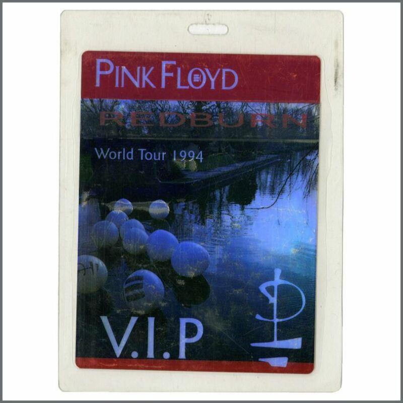 Pink Floyd VIP Concert Pass 1994 World Tour (UK)