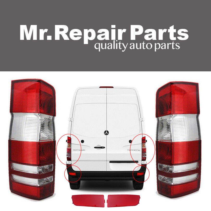 Mr Repair Parts Bumper Reflector for Dodge Mercedes Sprinter 9068260040 9068260140 Left Begel Germany