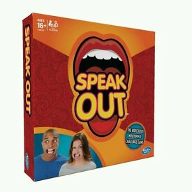 Hasbro Speak Out board game mouthpiece party xmas present IN STOCK NEW SEALED UK STOCK