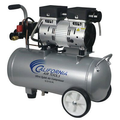 California Air Tools 5510a 1 Hp 5.5 Gal. Aluminum Air Compressor Cat-5510a New