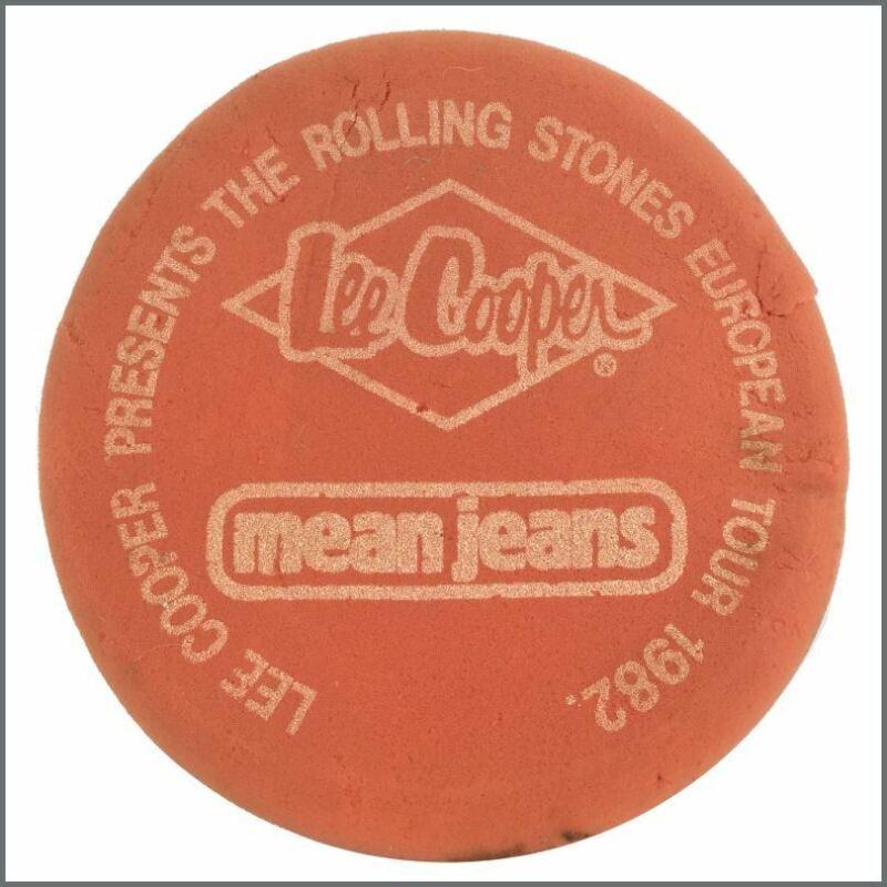 Rolling Stones 1982 European Tour Sponge Frisbee (UK)