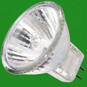 8x-10w-MR11-GU4-Halogeno-Bombillas-Luz-Foco-Reflector-12v-30-GRADOS