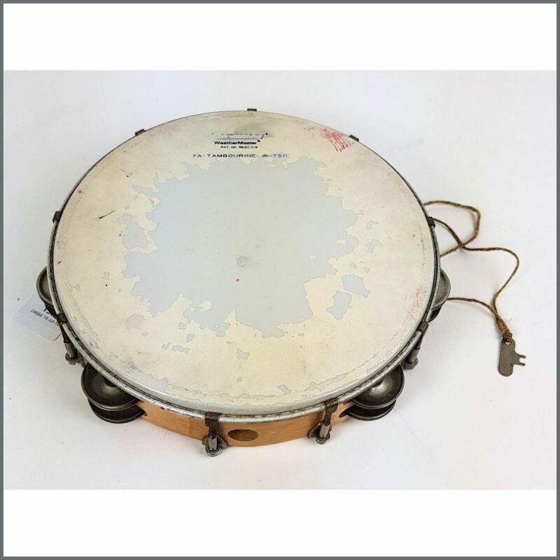 Cat Stevens 1970s Owned And Studio Used Ludwig Tambourine Yusuf Islam