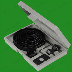 16-PEZZO-Sega-a-tazza-taglio-Set-19mm-127mm-Legno-Plastica-amp-metallo-Leghe