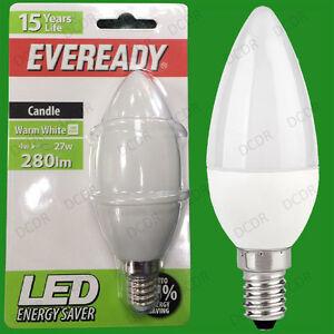 2x-4W-LED-Ultra-Bassa-Energia-Istantaneo-Avvio-Lampadine-A-Candela-SES-E14